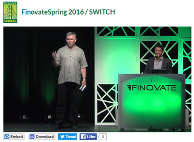SWITCH at Finnovate